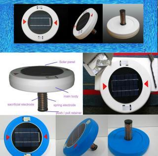 ioniseur purificateur d 39 eau solaire pour piscine. Black Bedroom Furniture Sets. Home Design Ideas