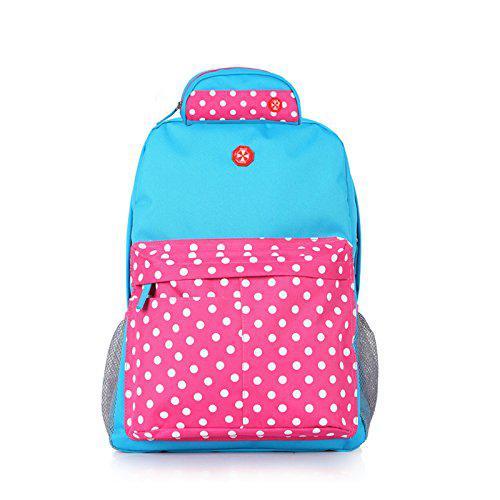 sac dos bleu rose loisir voyage enfant multicouleurs. Black Bedroom Furniture Sets. Home Design Ideas