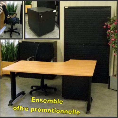 mobilier de bureau occasion. Black Bedroom Furniture Sets. Home Design Ideas